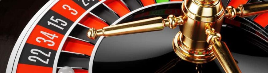 How does the electronic roulette wheel work?